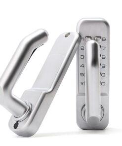 кодовый замок на металлопластиковую двери
