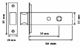 кодовый замок на металлопластиковую дверь
